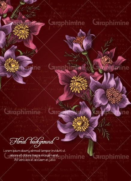 دانلود تصویر وکتور گل رنگی