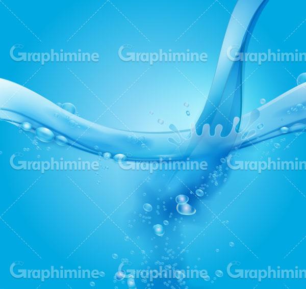دانلود تصویر وکتور آب ریختن