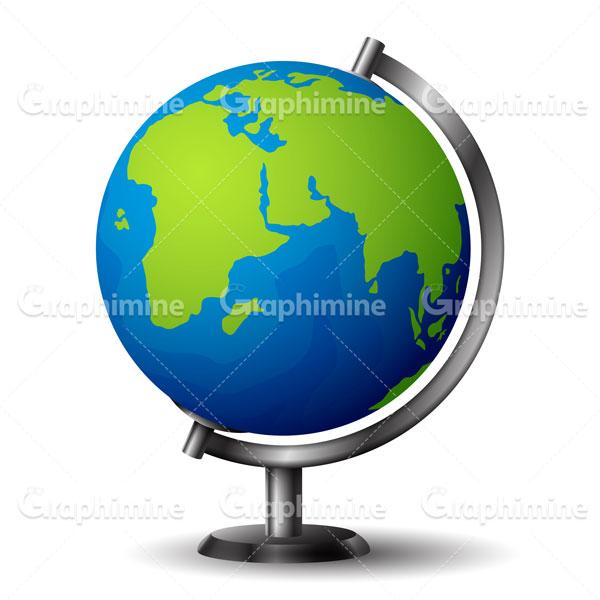 دانلود تصویر وکتور کره زمین