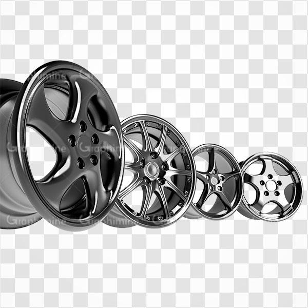 دانلود تصویر png انواع رینگ خودرو