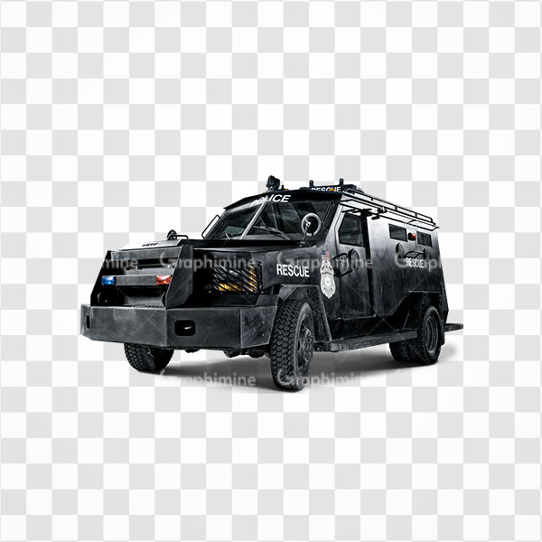 دانلود تصویر png خودرو زرهی پلیس