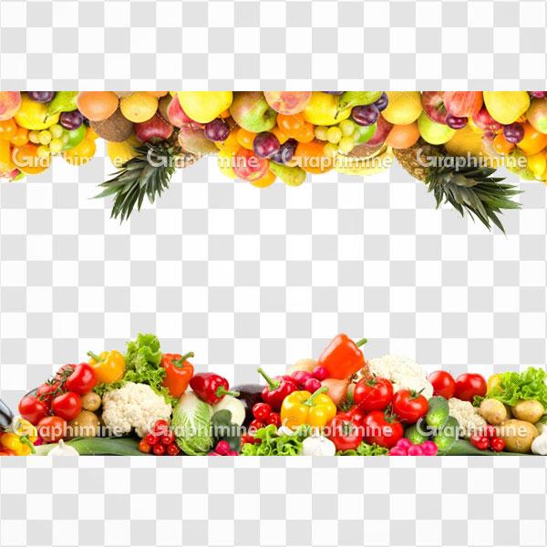 دانلود تصویر png میوه و سبزیجات