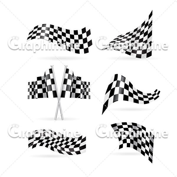 دانلود وکتور مجموعه پرچم های مسابقات