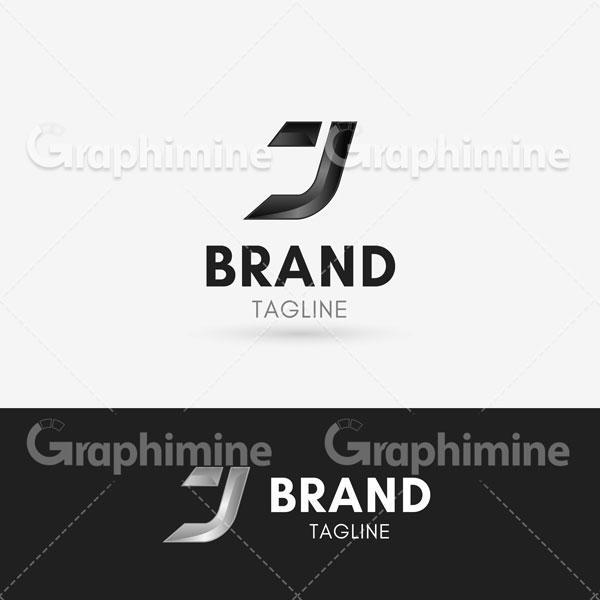 دانلود وکتور نمونه لوگو حرف J