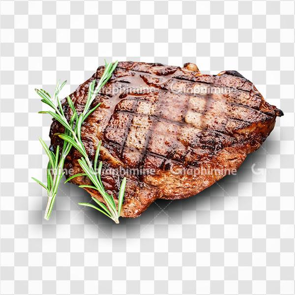 دانلود تصویر png گوشت گاو کباب شده