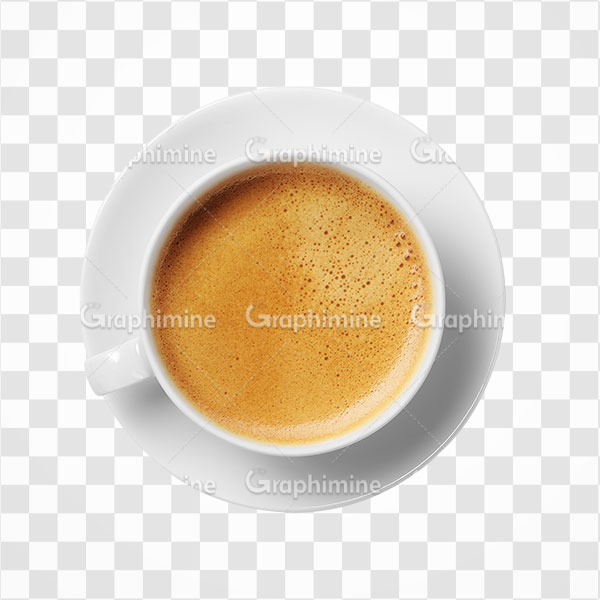 دانلود تصویر png یک فنجان قهوه شیرین