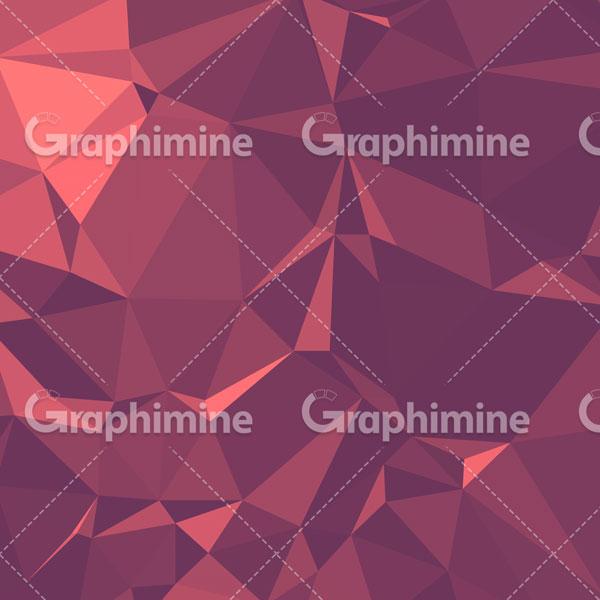 دانلود وکتور بکگراند انتزاعی چند ضلعی بنفش