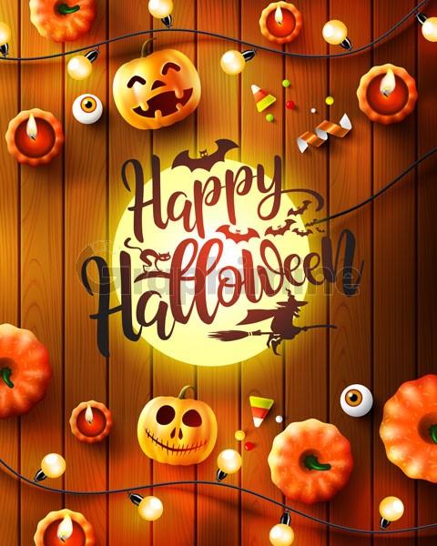 وکتور جشن هالووین