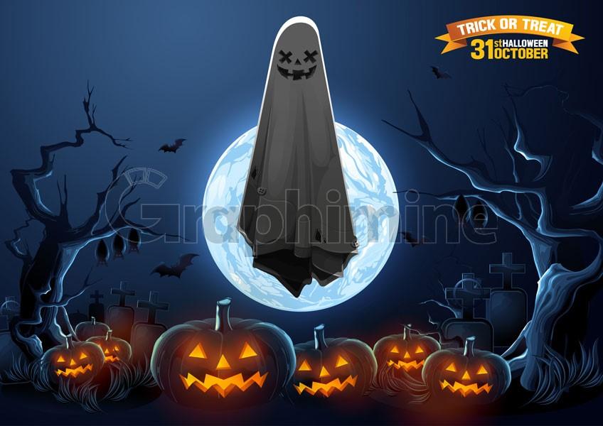 وکتور شب هالووین