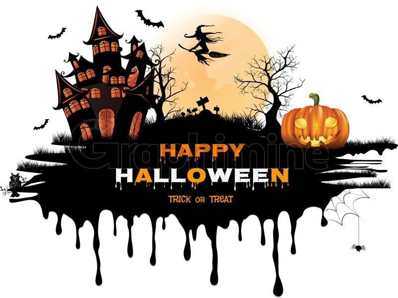 وکتور طرح هالووین