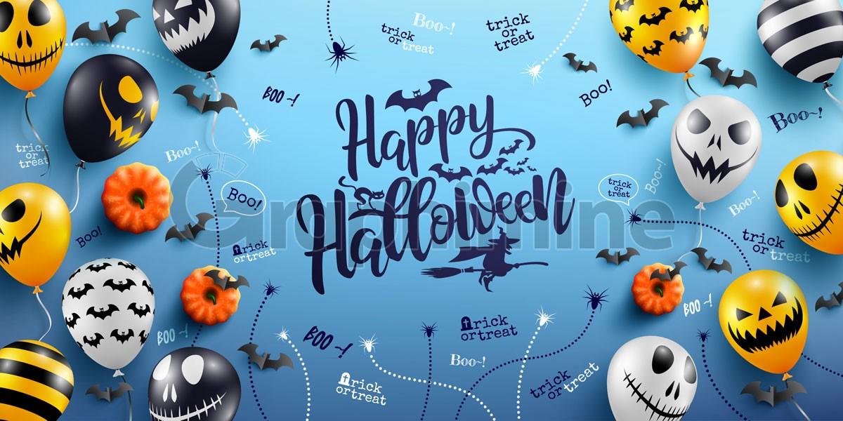 وکتور هالووین مبارک