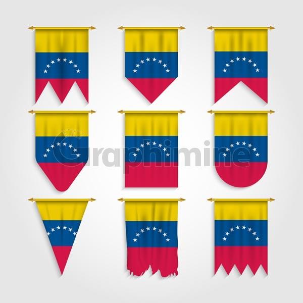 وکتور پرچم کشور ونزوئلا