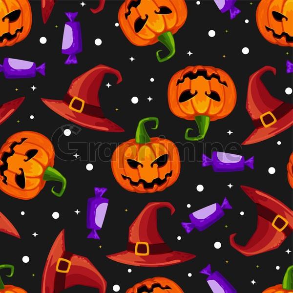 وکتور پس زمینه طرح هالووین