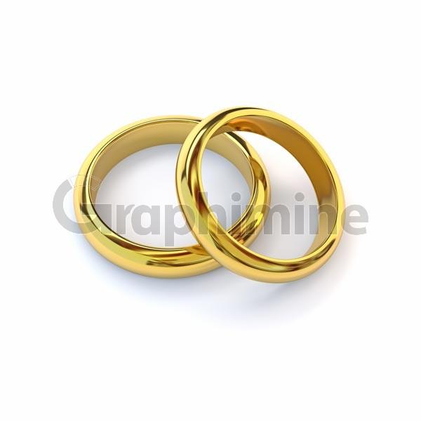 تصویر استوک حلقه ازدواج