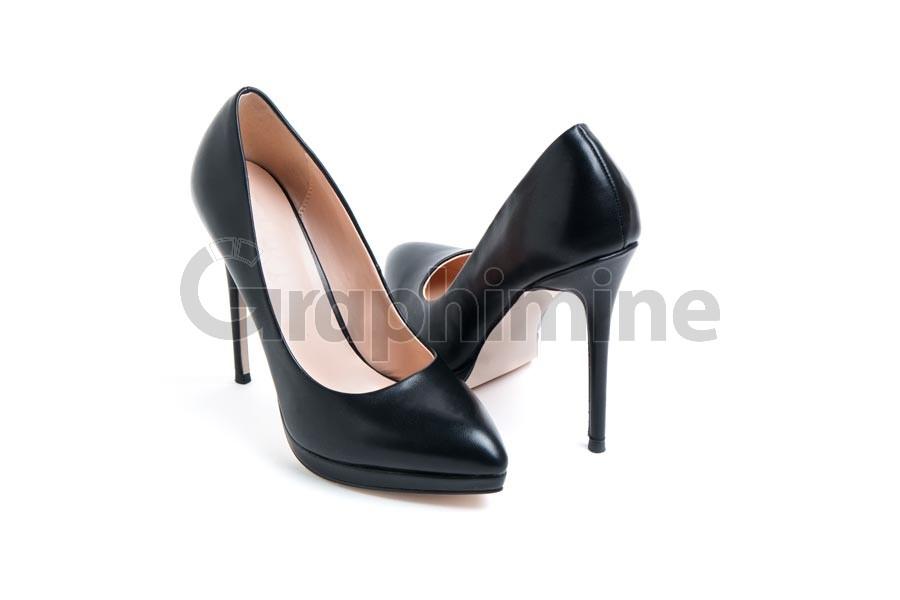 تصویر استوک کفش زنانه