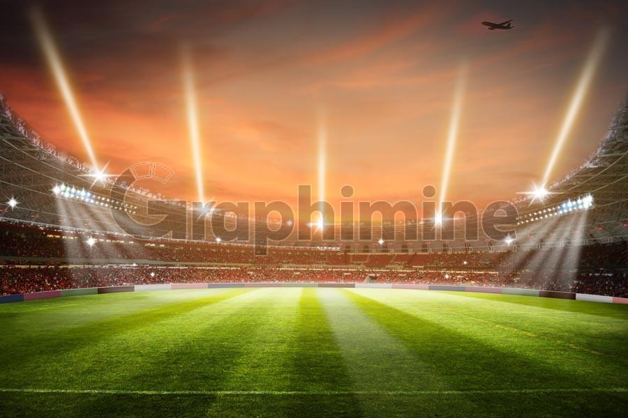 تصویر استوک استادیوم ورزشگاه فوتبال
