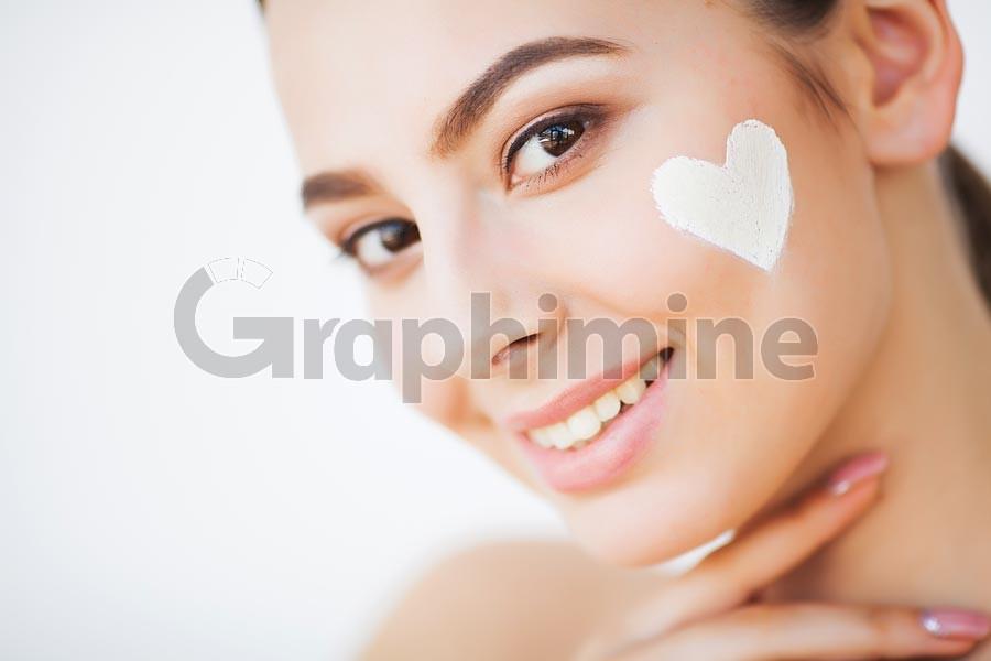 تصویر استوک مدل زیبایی آرایش