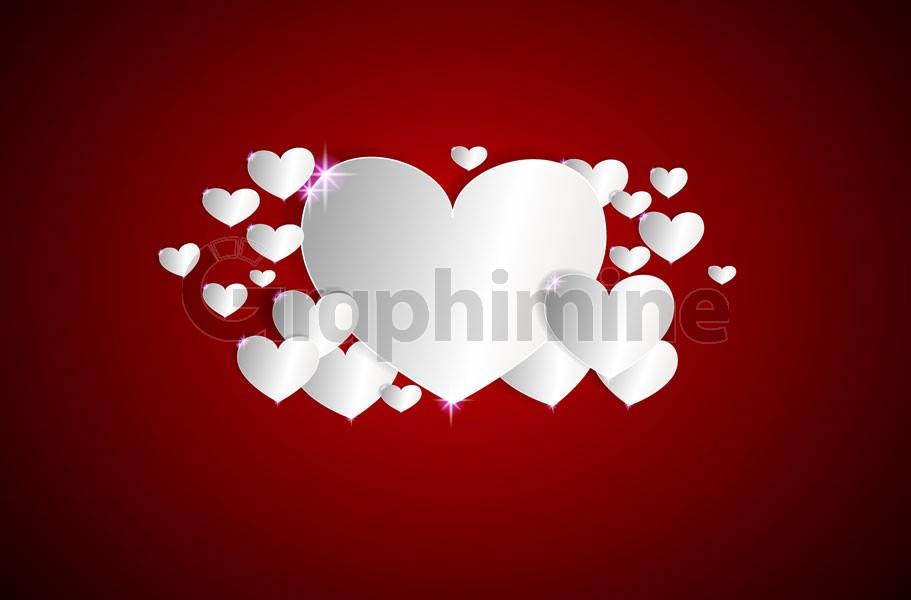 وکتور قلب سفید