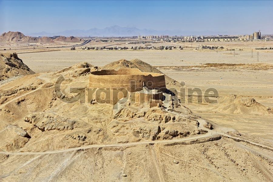 تصویر استوک آثار باستانی یزد