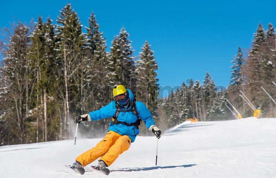 عکس استوک ورزش اسکی