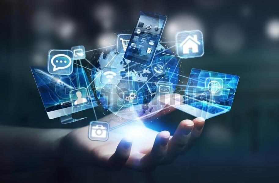 تصویر استوک تکنولوژی ارتباطات
