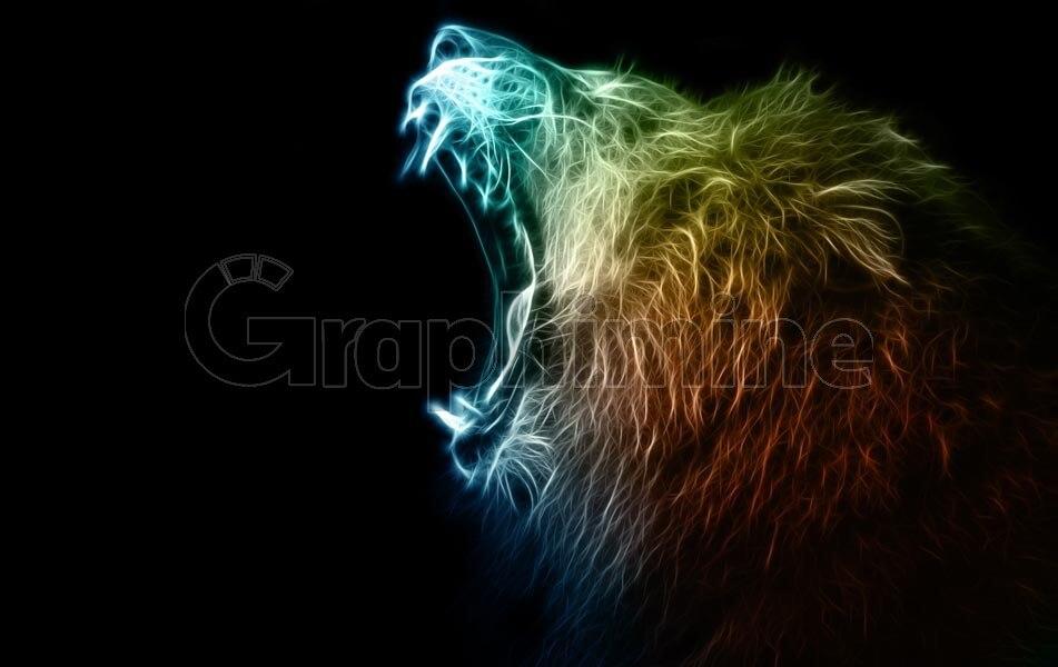 تصویر استوک حیوان شیر