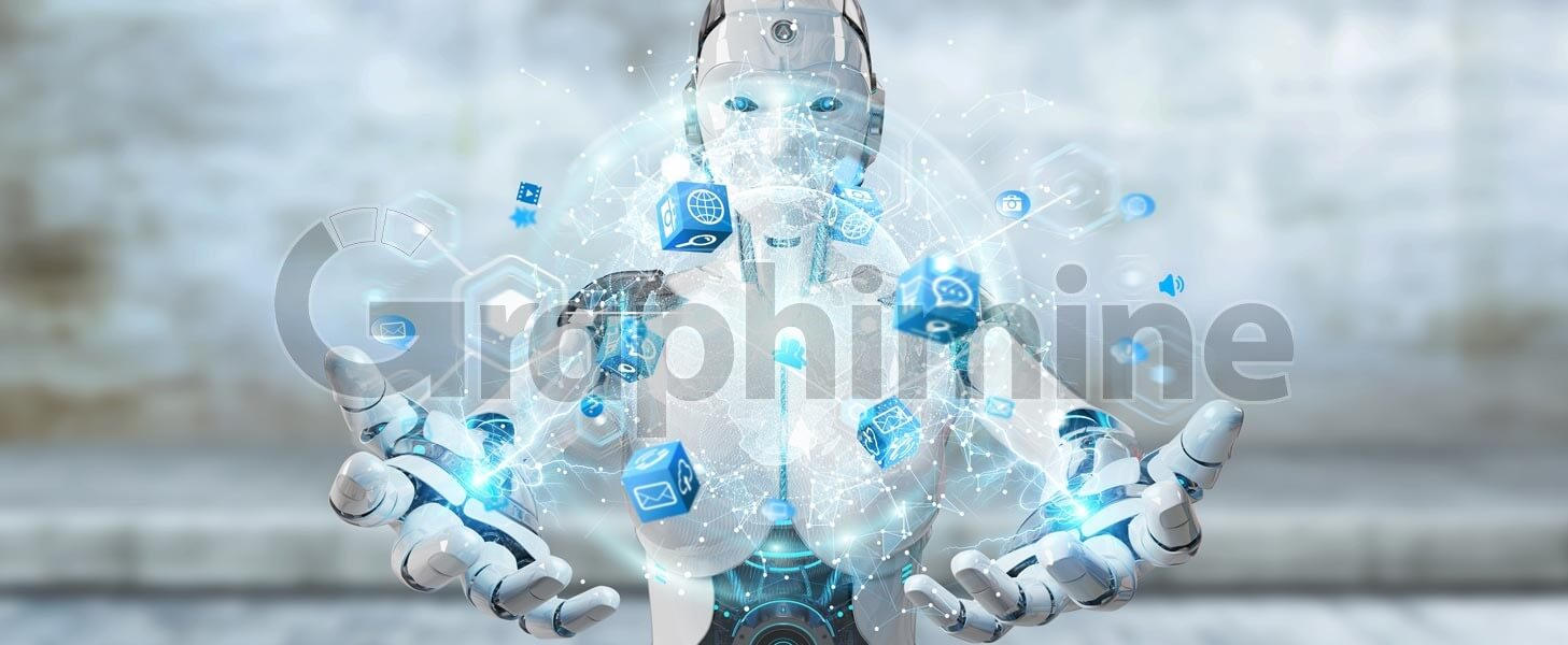 تصویر استوک ربات فناوری