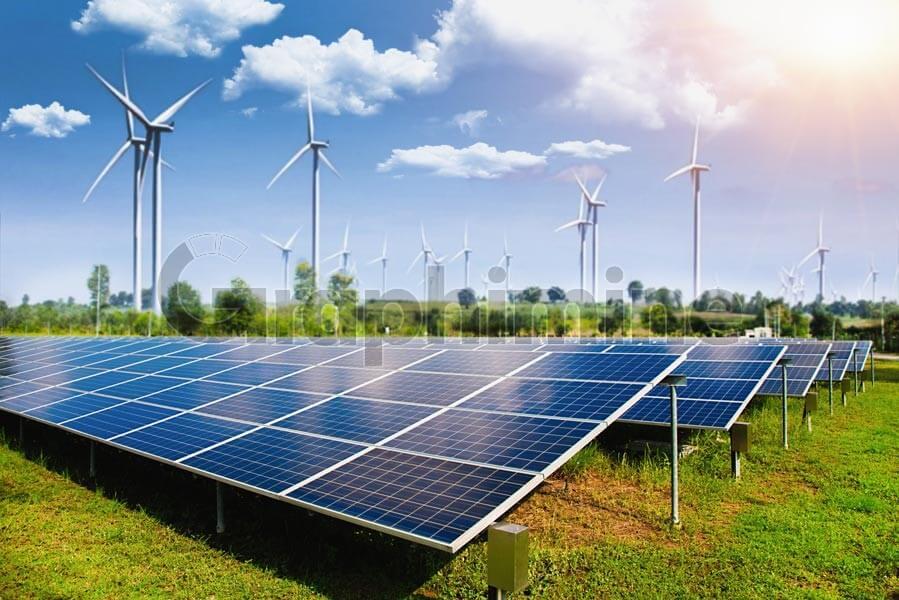 تصویر استوک پنل خورشیدی