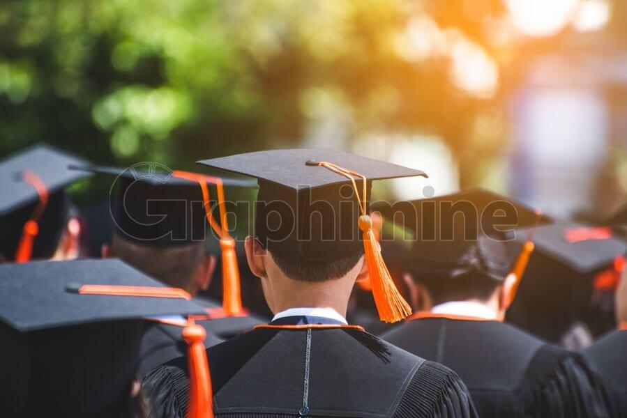 عکس استوک دانشجویان فارغ التحصیل