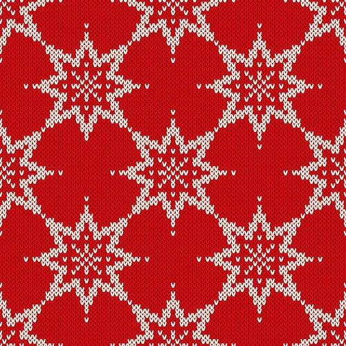 وکتور پترن تکسچر بافت کریسمس برف