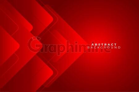 وکتور پس زمینه انتزاعی قرمز هندسی