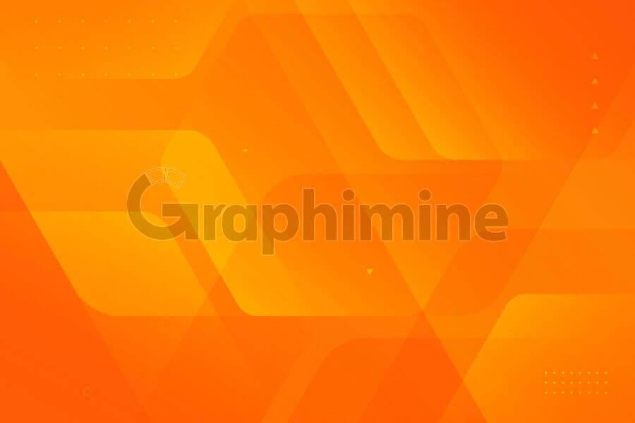 وکتور پس زمینه انتزاعی نارنجی