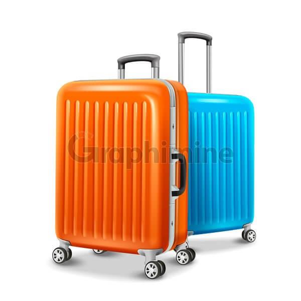 وکتور چمدان مسافرتی