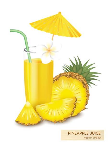 وکتور آناناس آبمیوه