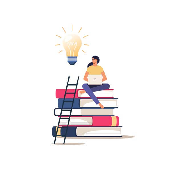 وکتور دوره آموزشی آنلاین آموزش از راه دور