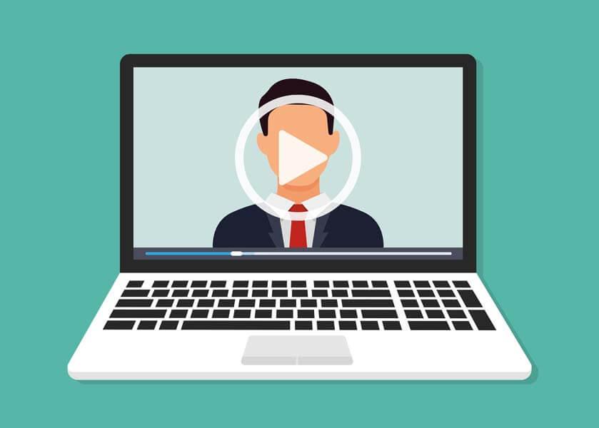 وکتور وبینار کنفرانس آموزش آنلاین