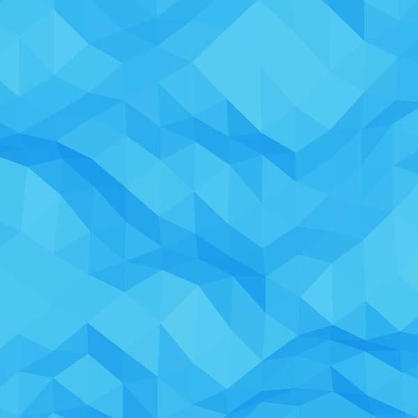 وکتور آبی انتزاعی هندسی شکل مثلثی