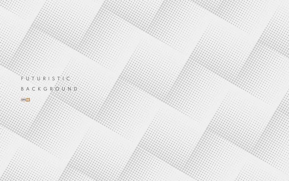 وکتور پترن الگوی مشبک رنگ خاکستری انتزاعی پس زمینه سفید