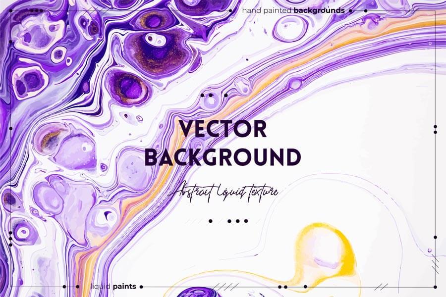 وکتور تکسچر انتزاعی مایع ترکیب رنگ ها
