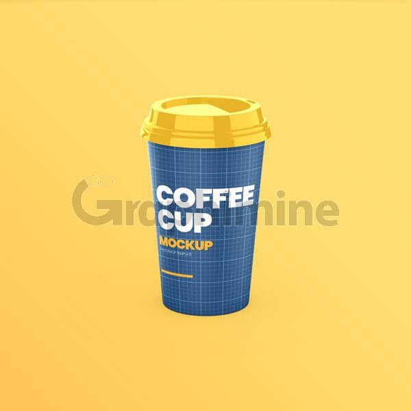 موکاپ لیوان کاغذی قهوه