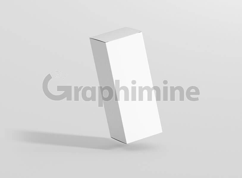 موکاپ جعبه بسته سفید